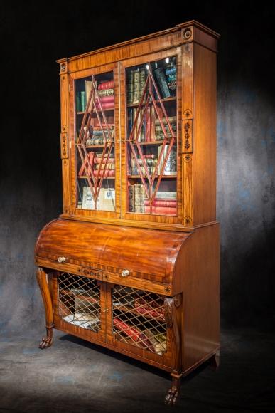 Bertrand klein antiquit s meubles alsaciens du xviie au for Scriban style anglais