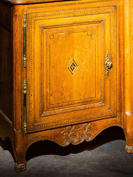 meubles anciens buffet bibliotheque lorrain bertrand klein antiquit s. Black Bedroom Furniture Sets. Home Design Ideas
