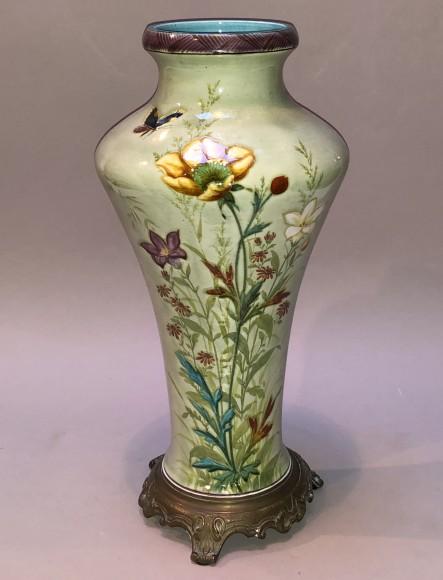 Japanese decor vase Theodore Deck