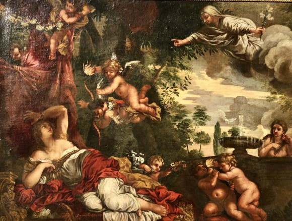 The Dream Of Saint Catherine 17th cent.