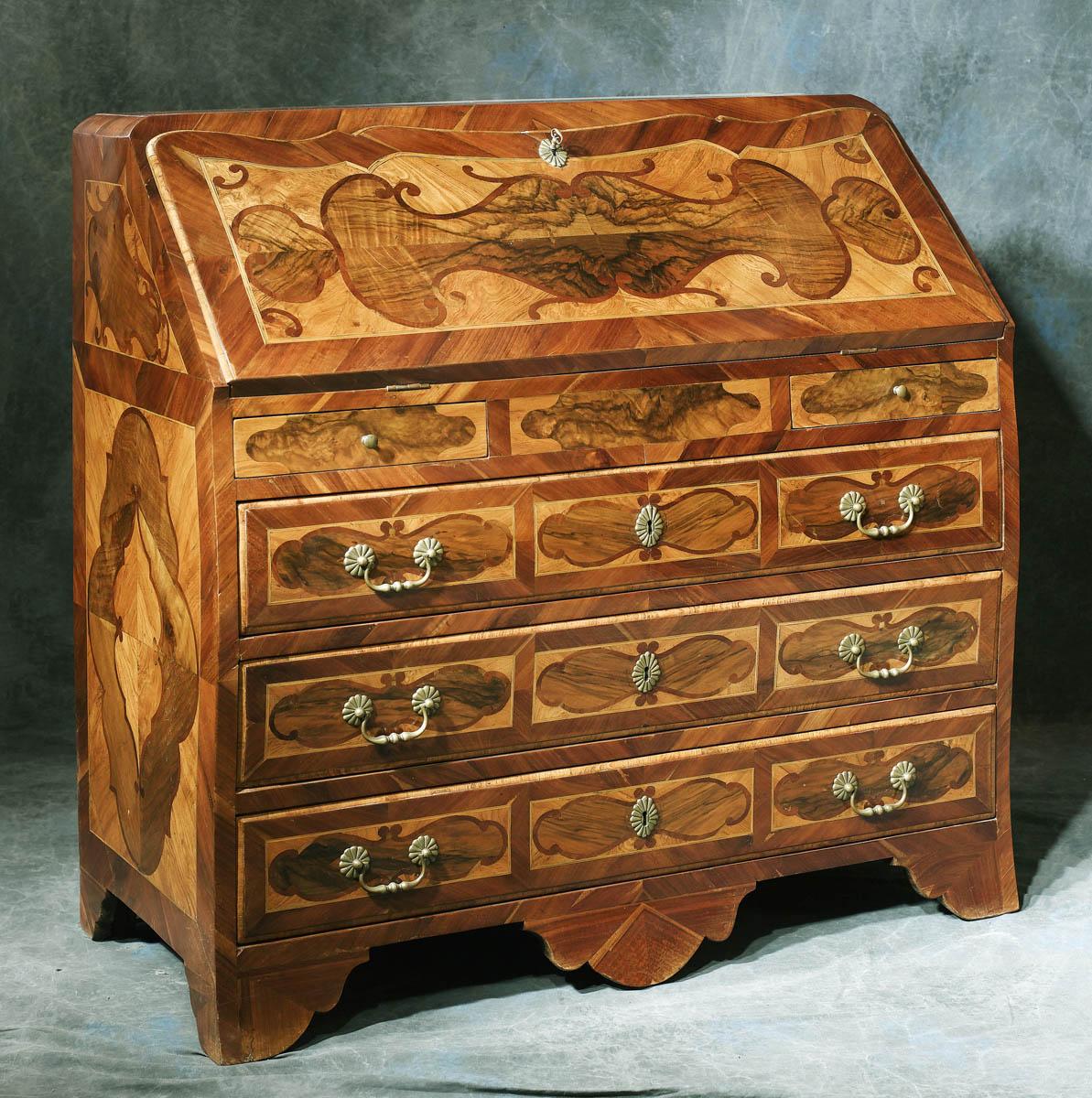 meubles anciens bureau commode galb 18 me bertrand klein antiquit s. Black Bedroom Furniture Sets. Home Design Ideas