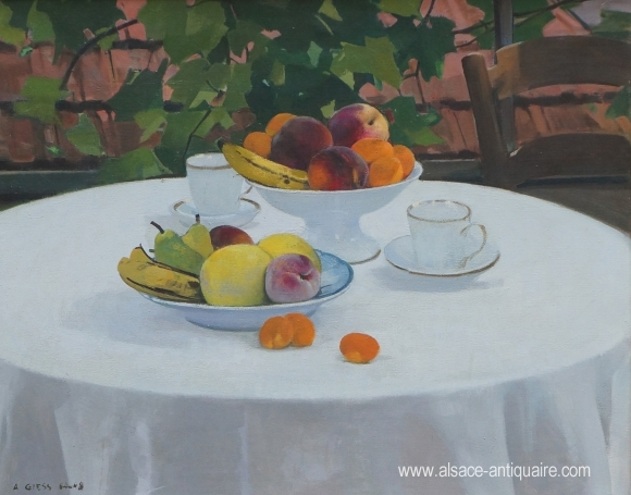 Coupes de Fruits au matin